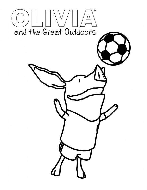 Olivia Coloring Book Pages Coloring Pages
