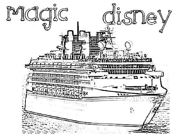 crusie ship coloring pages - photo#27