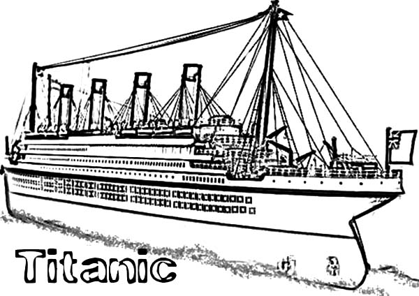 titanic coloring pages | Coloring Pages